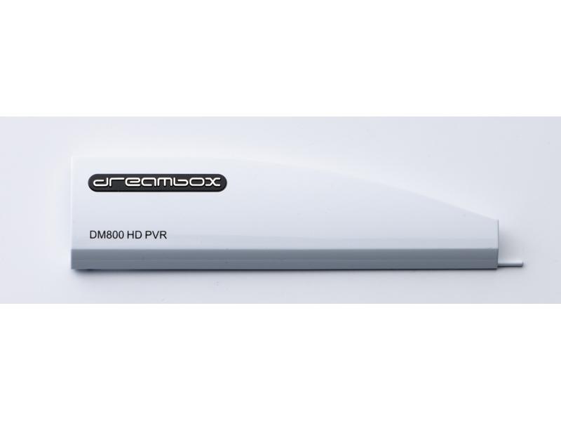 Dreambox 800 HD PVR Frontklappe weiß