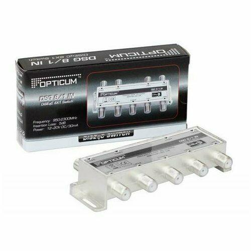 OPTICUM DiSEqC Schalter DSG 8/1 IN