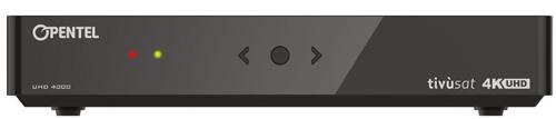 Opentel UHD 4000 TVS Tivu tivusat UHD Receiver mit HbbTV
