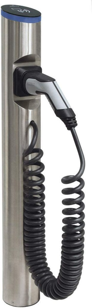 Hesotec Electrify eSat r20, BASE, 11 kW (Edelstahl) Wallbox / Walladapter / Ladesäule, Typ 2 (10097-01)