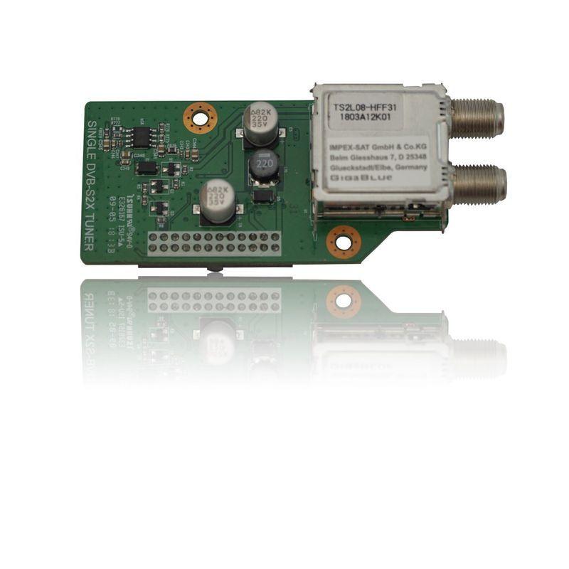GigaBlue DVB-S2X Multistream Single Tuner Quad UHD 4K, UE UHD 4K, X2 HD