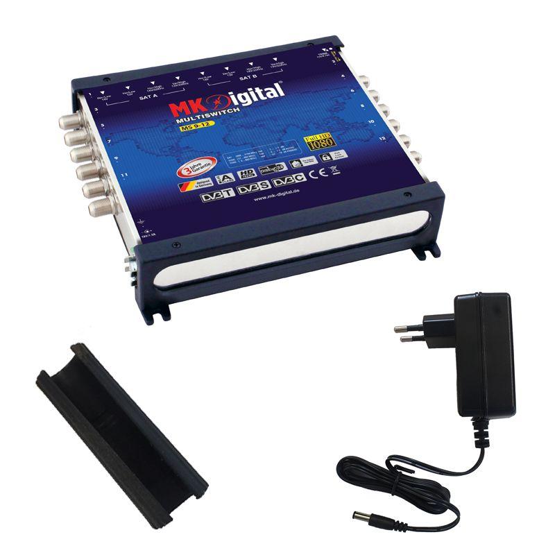 MK-Digital MS 9-12 Multischalter mit LED Kontrollleuchte