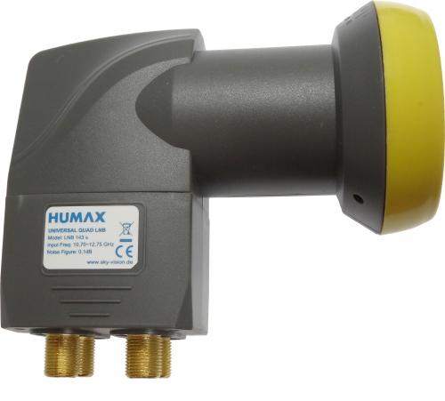 Humax LNB 143s Gold Quattro Switch LNB