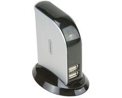 7 Port USB 2.0 Hub Aktivincl. 1,8m USB Kabel geeignet z.B. für Smargo