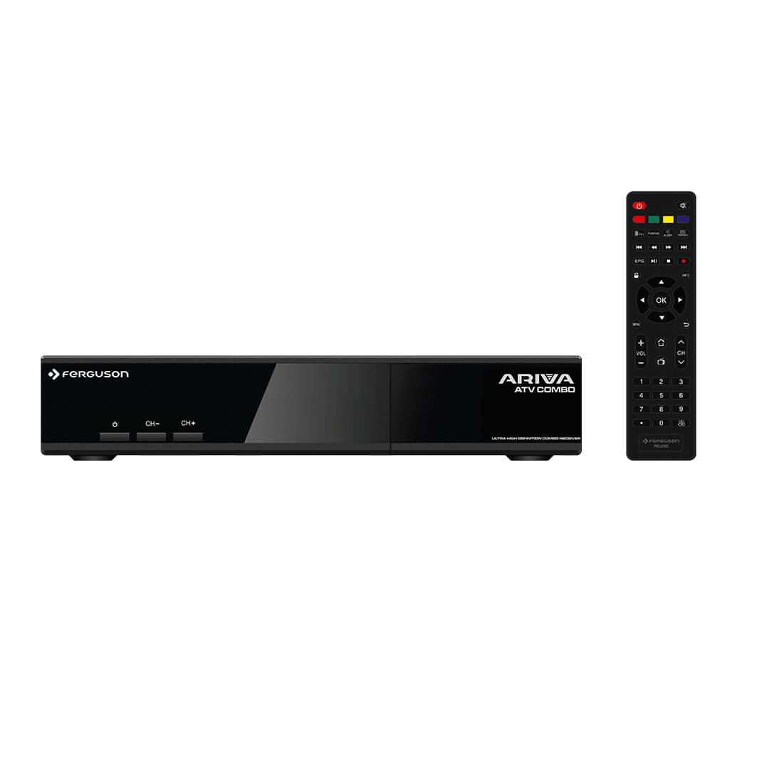 Ferguson Ariva ATV Combo Sat/DVB-T2 UHD/4K Android 8.0 Linux Open ATV
