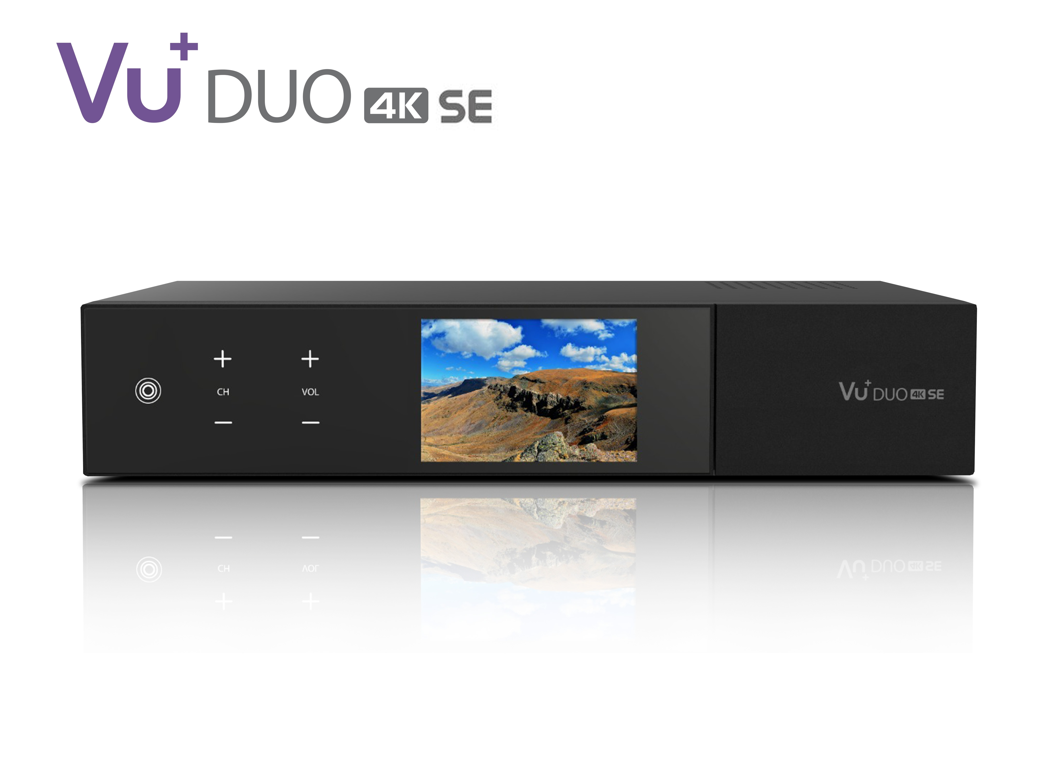 VU+ Duo 4K SE 1x DVB-C FBC Tuner PVR ready Linux Receiver UHD 2160p