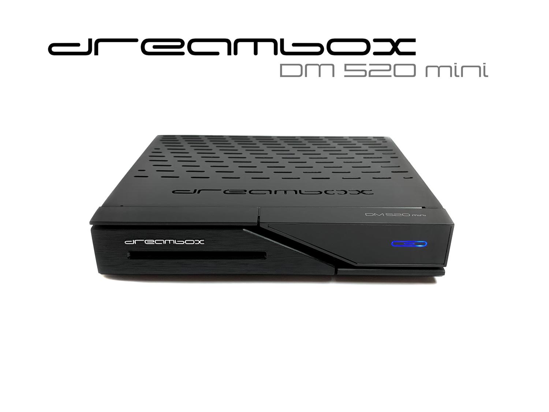 Dreambox DM520 mini HD 1x DVB-S2 Tuner PVR ready Full HD 1080p H.265 Linux Receiver
