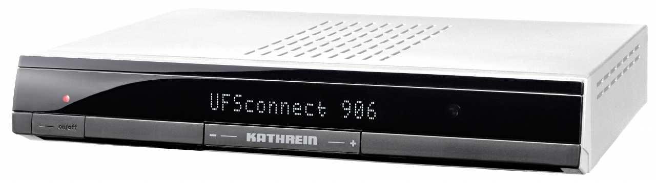 Kathrein UFS connect 906 si silber DVB-S HDTV Sat-Receiver