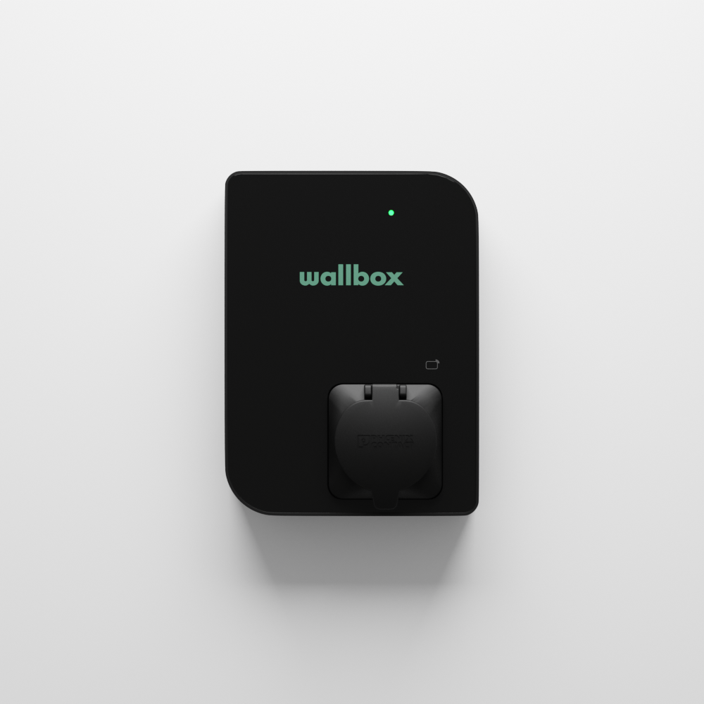 Wallbox Copper SB, 11 KW, Dose schwarz (CPB1-S-2-3-5-002-B) (förderfähig)
