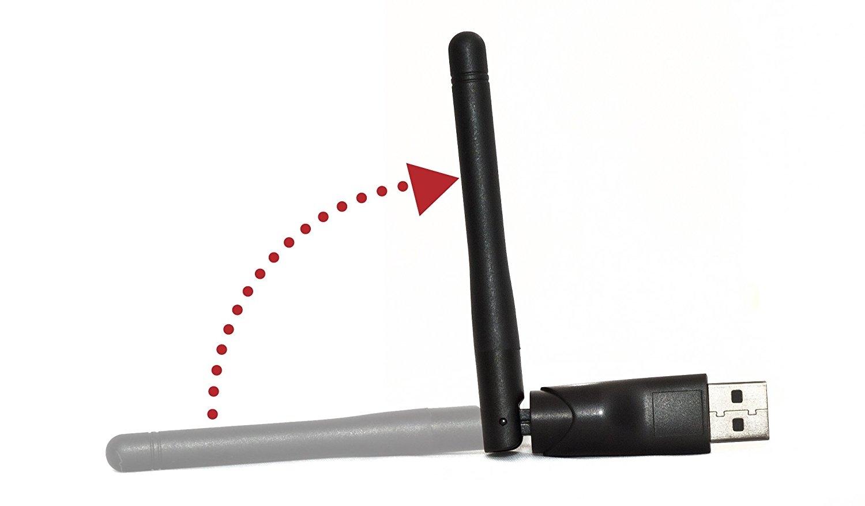 Ferguson W03 Wifi USB Wlan Stick mit Antenne 802.11 B/G/N