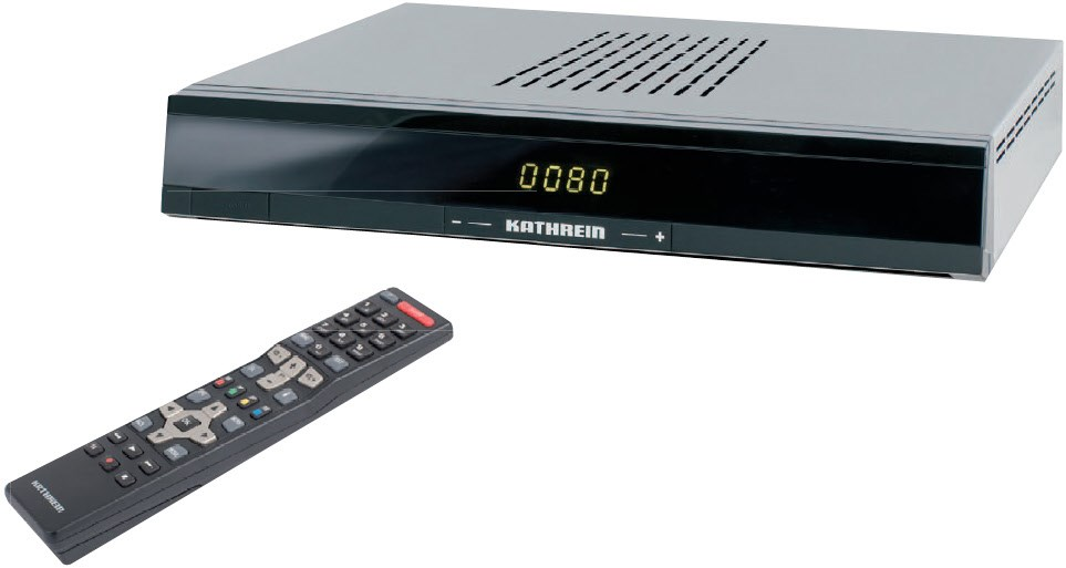 Kathrein UFS 80sw schwarz FTA Sat-Receiver HDTV