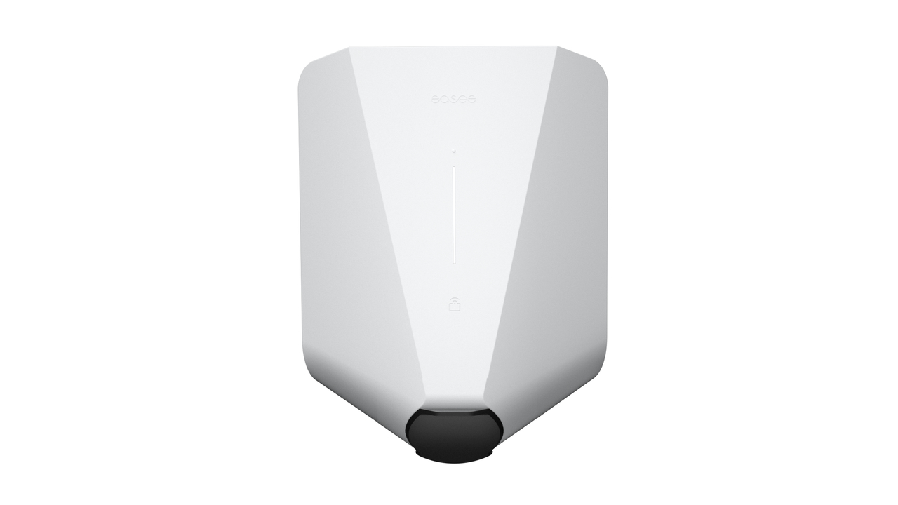 Easee Wallbox Home Laderoboter weiß, bis 22 KW, mit Ladesteckdose (förderfähig)