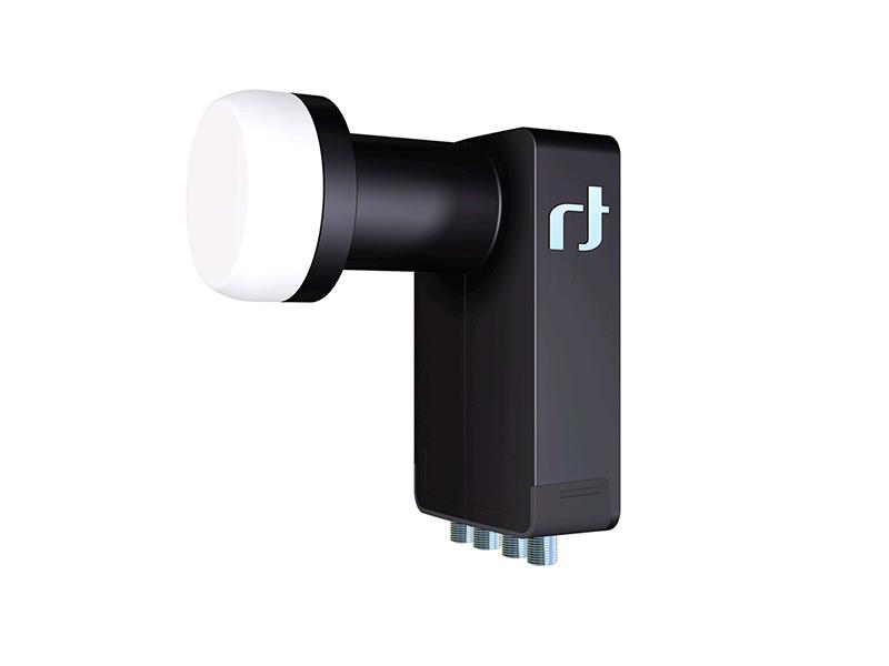 Inverto Black Ultra HGLN Quattro L-Shape LNB 40mm