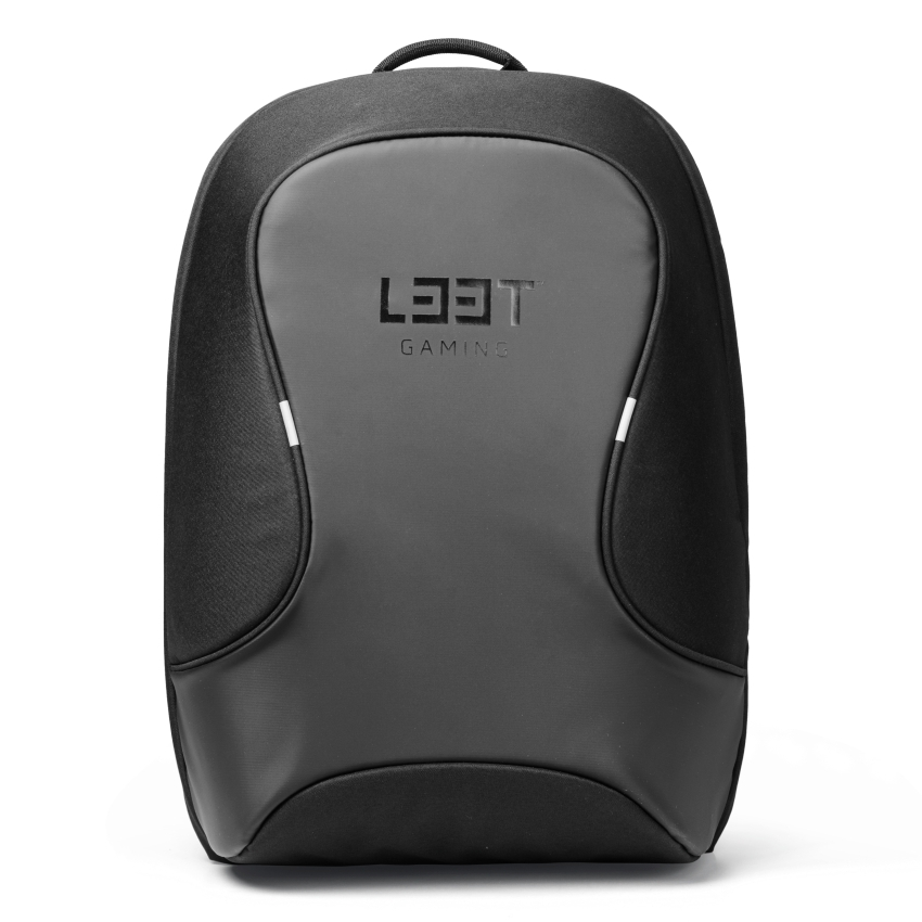 L33T L33T Gaming-Rucksack WATERPROOF für 15,6 Zoll Geräte schwarz