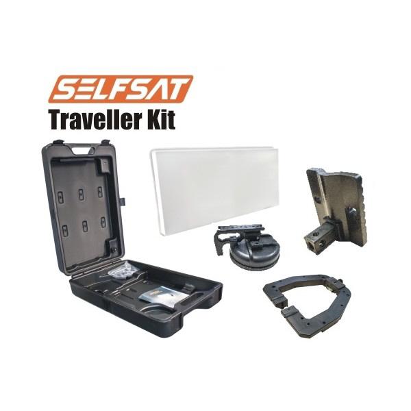 Selfsat Traveller Kit T30D Single Camping Koffer