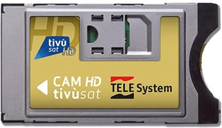 Tivusat Tivù Sat SmarCAM CI Plus Modul ohne Karte