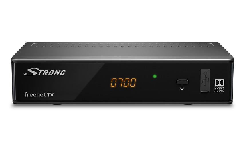 STRONG SRT 8541 DVB-T2 HD Receiver mit 3 Monaten freenet TV gratis