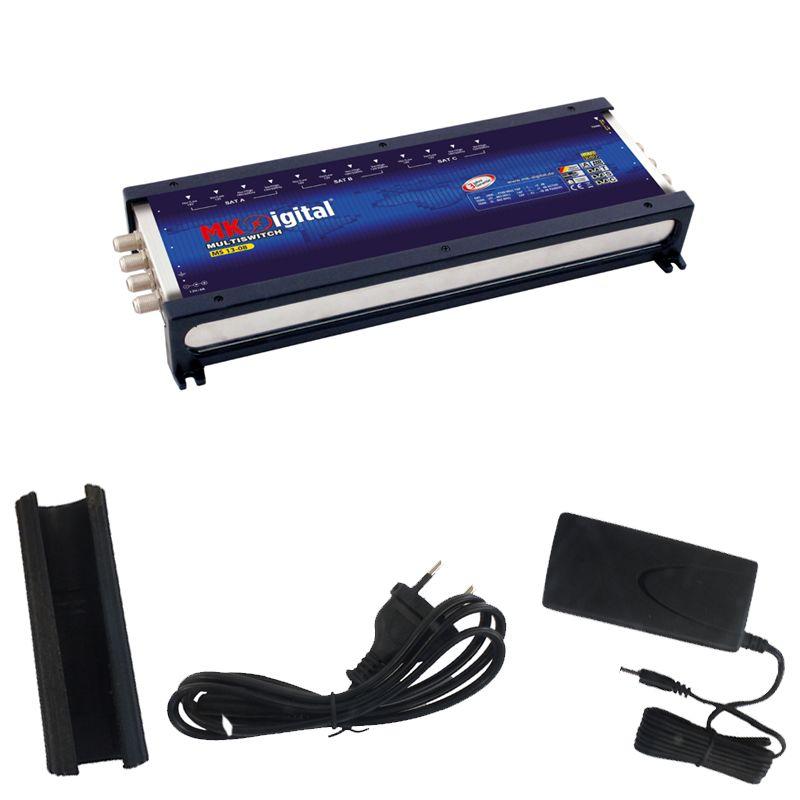 MK-Digital MS 17-08 Multischalter mit LED Kontrollleuchte