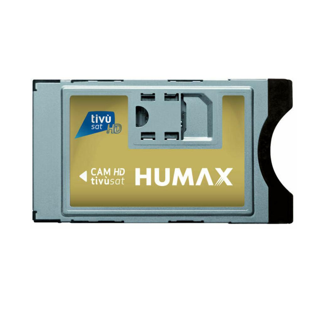 Tivusat - Mediaset HDTV CI+ Modul Cam ohne Smartcard Karte