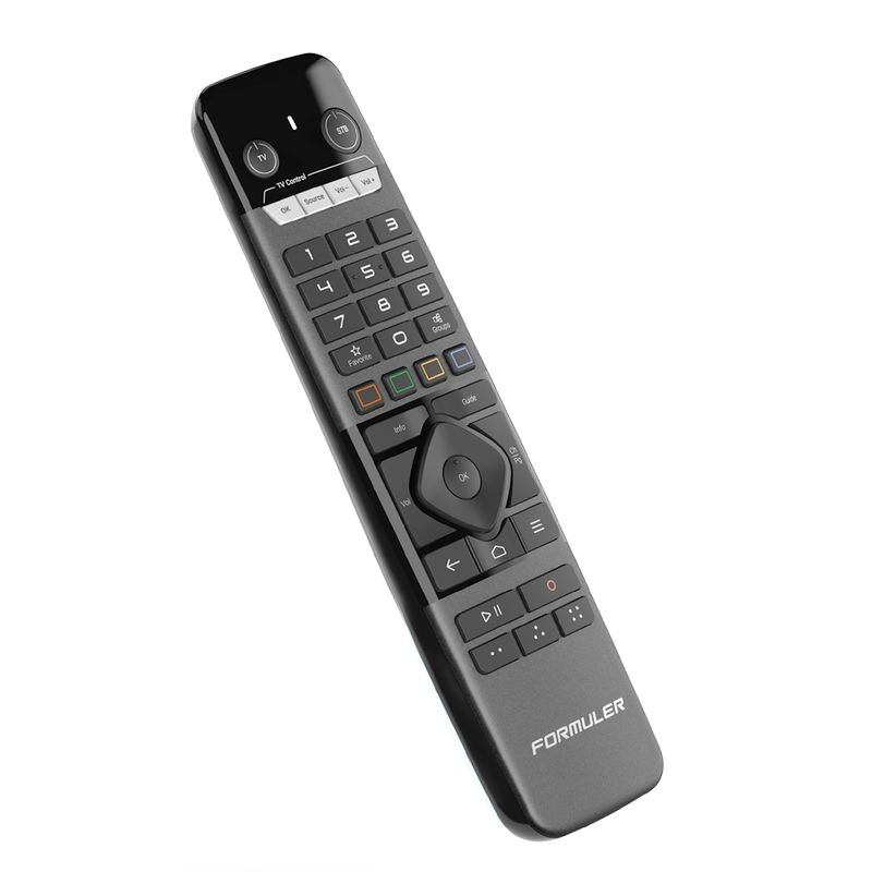 Formuler GTV-IR1 RCU IR Fernbedienung für alle Formuler Receivern mit Universal TV Control