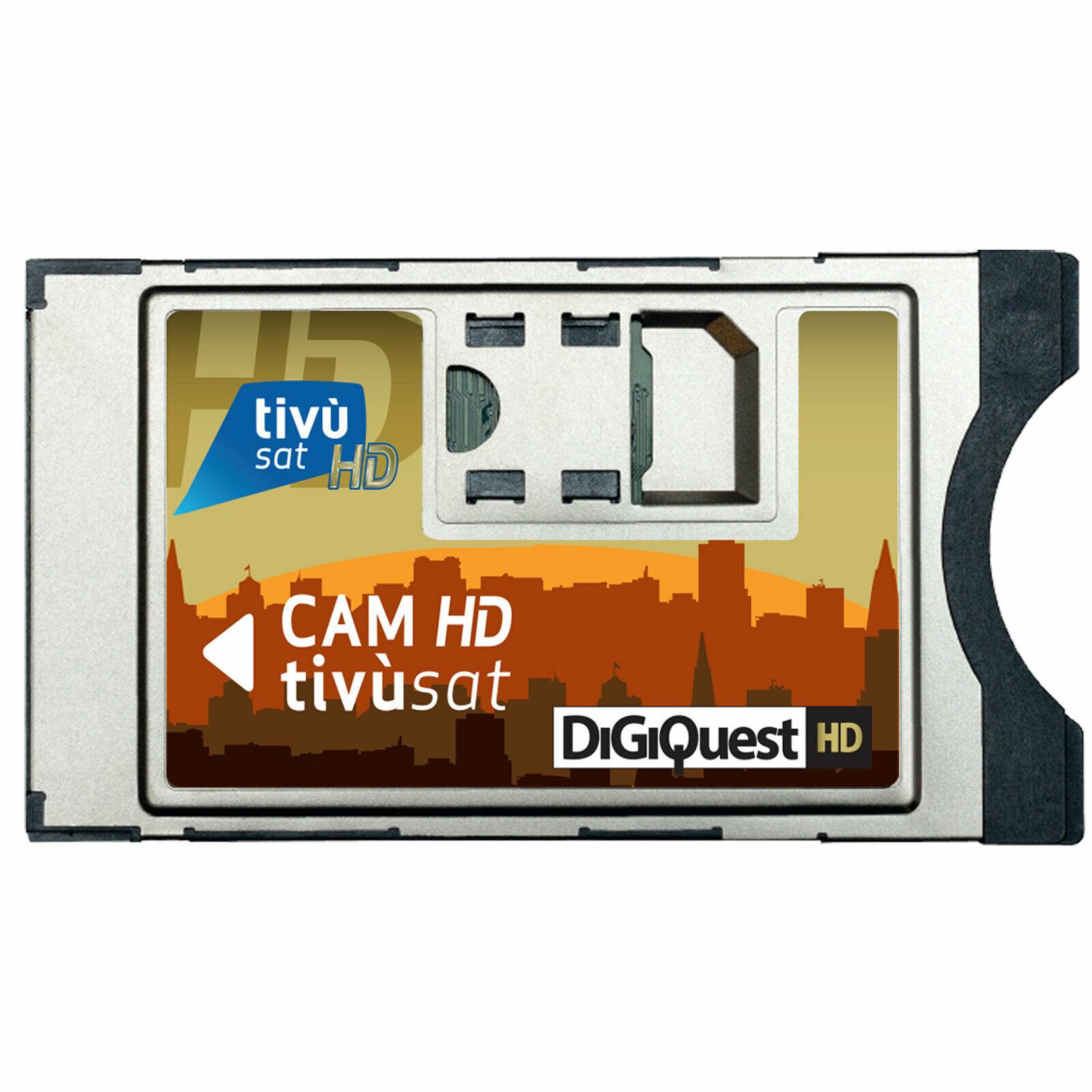Tivusat Cam Modul SmarCam Full HD für Tivusat CI Modul ohne Karte HDTV Ver.1.0