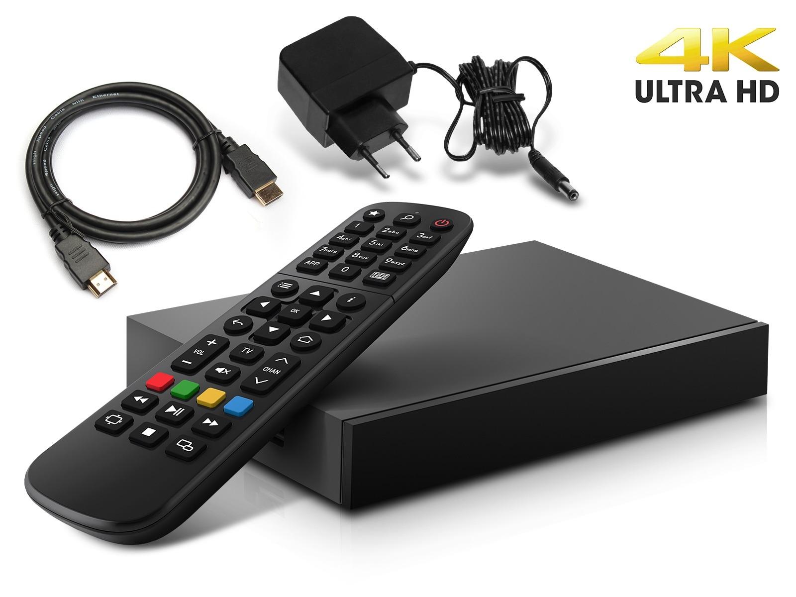MAG 520 IP TV Internet Streamer HEVC H.265 4K UHD 60FPS Linux USB 3.0 LAN HDMI