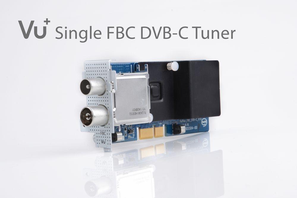VU+ DVB-C FBC Tuner Uno 4K / Uno 4K SE/ Ultimo 4K / Duo 4K ( 8 Demodulatoren )