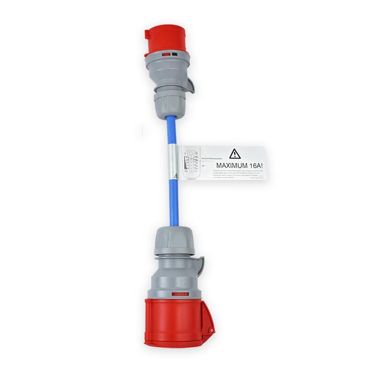 NRGkick Adapter mit Erkennungsfunktion - CEE 32A auf CEE 16A - 20209