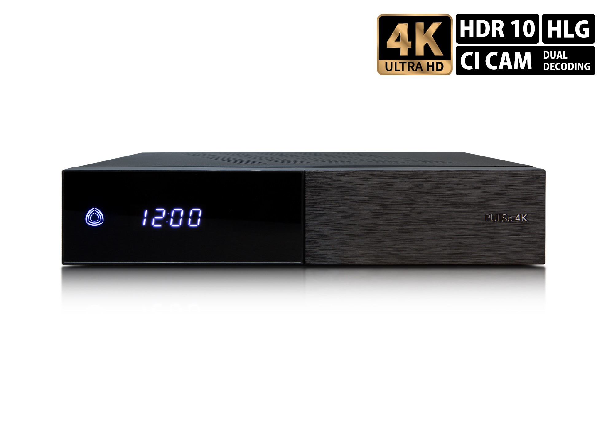 AB-Com Pulse 4K 1xDVB-S2X Tuner UHD Sat Receiver