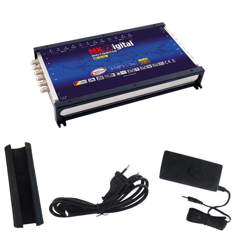 MK-Digital MS 13-12 Multischalter mit LED Kontrollleuchte