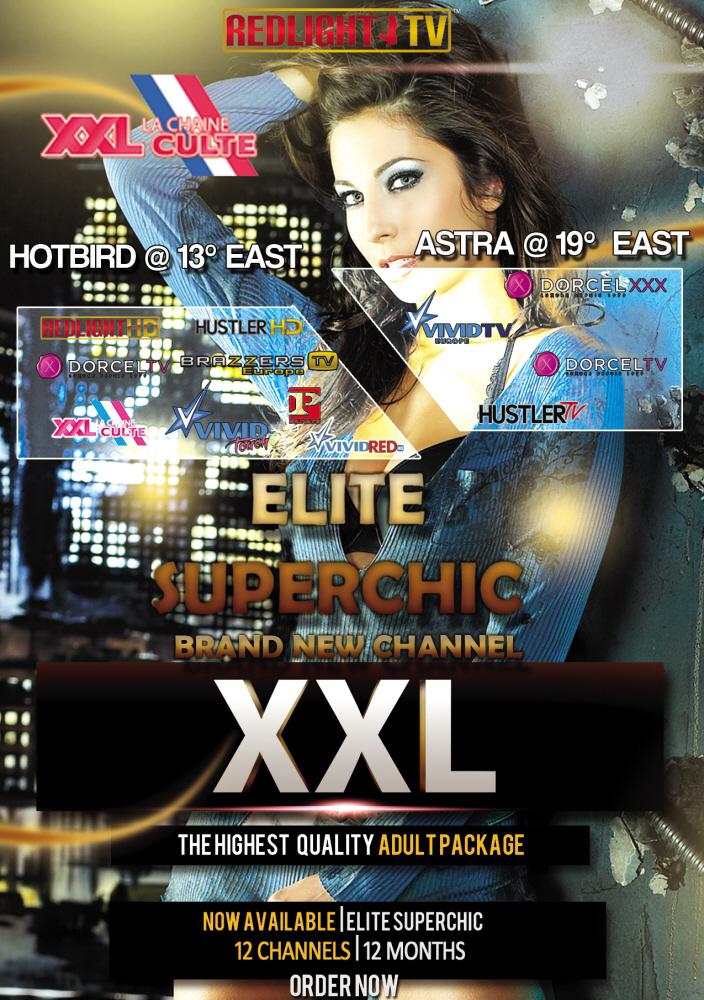 Redlight Elite Superchic 12 Sender Viaccess Smartkarte 12 Monate inkl. Brazzers TV
