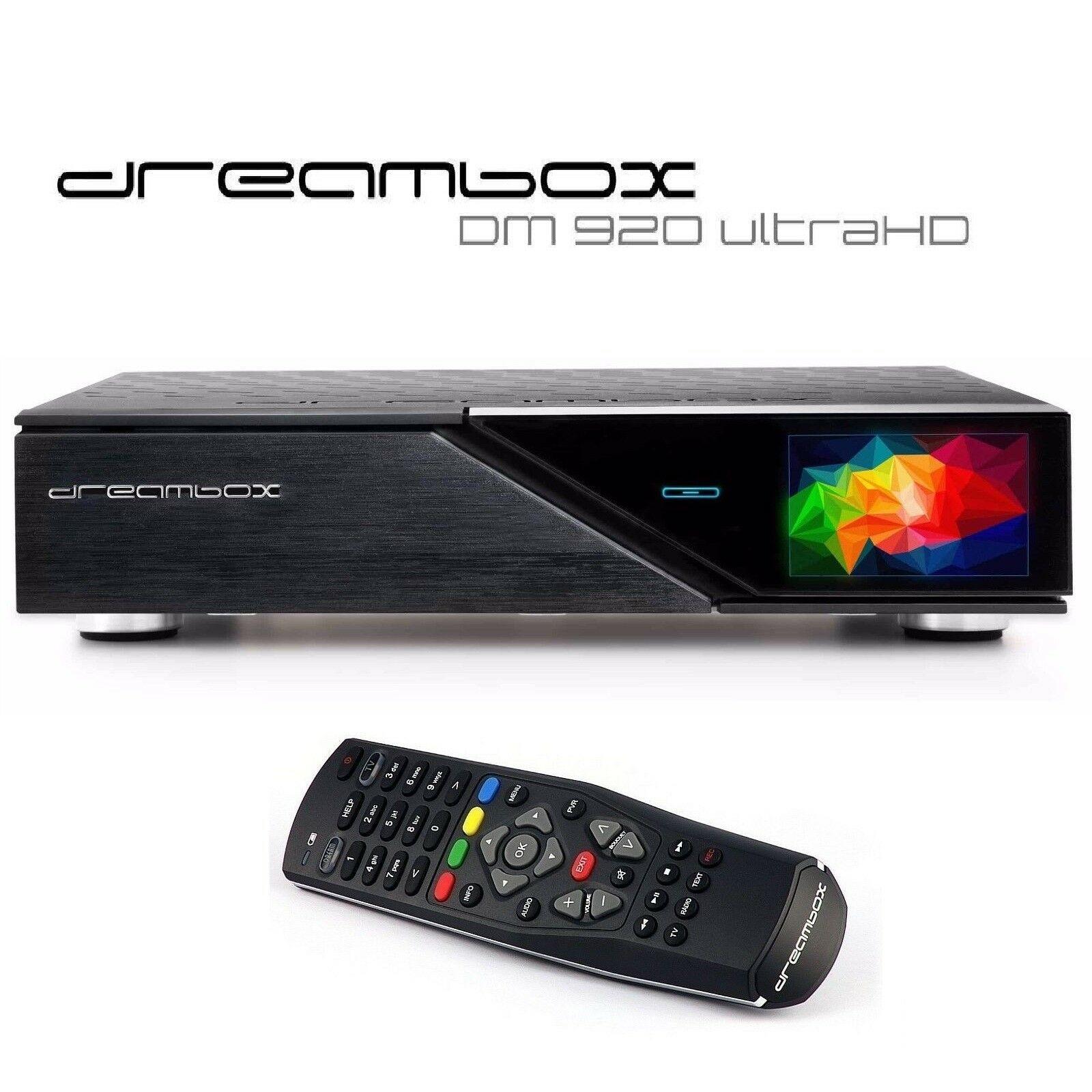 Dreambox DM920 UHD 4K 1x DVB-S2 FBC Tuner E2 Linux PVR Receiver