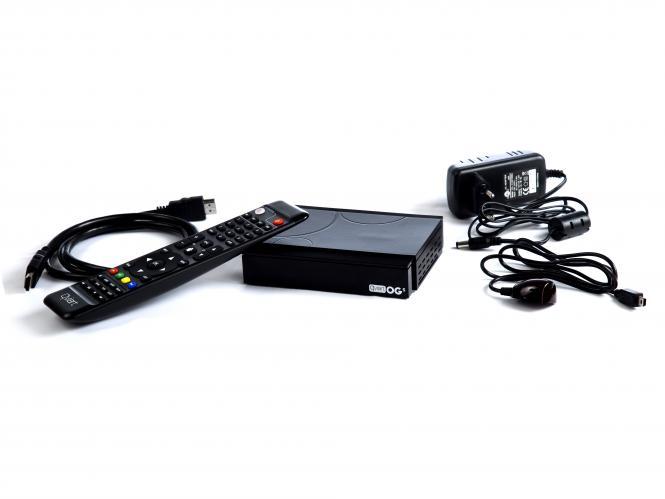 Qviart OGs Linux Full HD DVB-S Multistream Receiver H.265 OTT IPTV Player