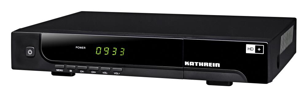 Kathrein UFS 933sw/HD+ DVB-S-Receiver HDTV schwarz