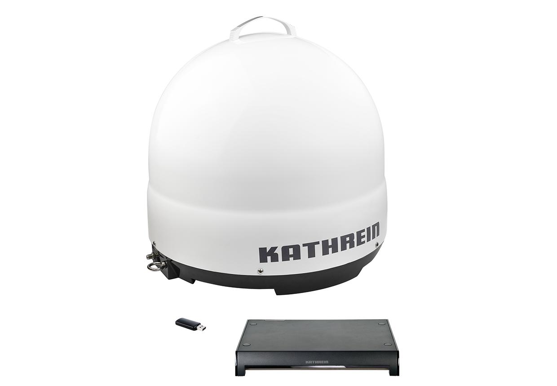 Kathrein CAP 500M Plus - Mobile portable vollautomatische Sat Camping Antenne inkl. CAP-Konverter