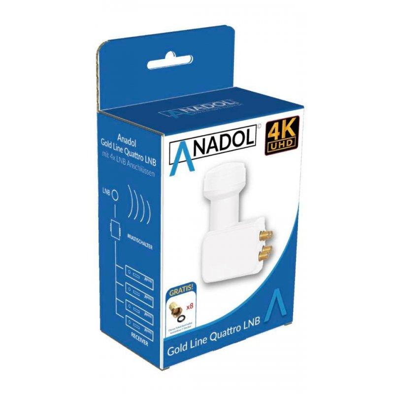 Anadol Gold Line Quattro LNB 0.1 dB