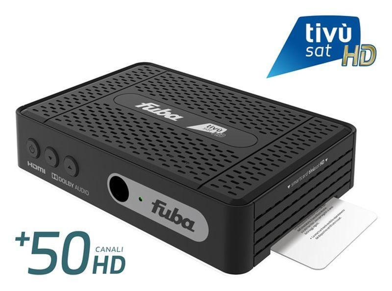 FUBA ODE718 HD Tivùsat RECEIVER INKL. Aktivierte Tivusat HD Smartcard